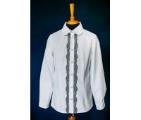 Блузка с длинным рукавом (806-2Бел)