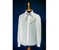 Блузка с длинным рукавом (825Беж)