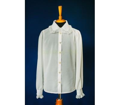 Блузка с длинным рукавом (828Беж)