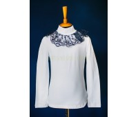 Блузка трикотажная (830-2Бсин)