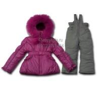 Зимний костюм для девочки (2111М)