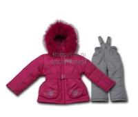 Зимний костюм для девочки (2116М)