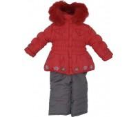 Зимний костюм для девочки (2100Б)