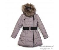 Зимнее пальто для девочки (2955сир)