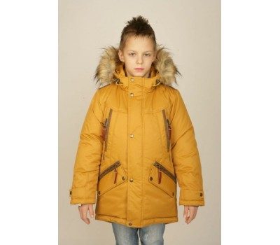 Зимняя куртка-парка для мальчика (3558)