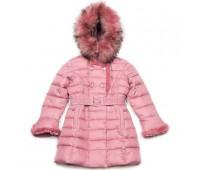 Зимнее пальто для девочки (3385роз)