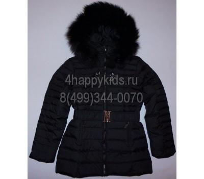 Зимняя куртка на пуху для девочки (2538)
