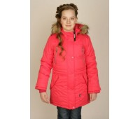 Зимняя куртка-парка для девочки (7111)