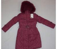 Зимнее пальто для девочки (1719)