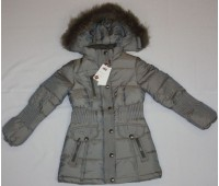 Зимняя куртка на пуху для девочки (1776)