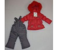 Зимний костюм для девочки (2102М)