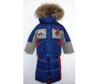 Зимний костюм для мальчика (1809)
