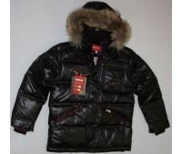 Зимняя куртка на пуху для мальчика (2230)
