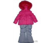 Зимний костюм для девочки (2119Б)