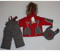 Зимний костюм для мальчика (1854)