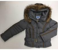 Зимняя куртка на пуху для девочки (9513)