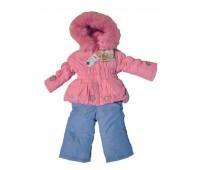 Зимний костюм для девочки (2100М)