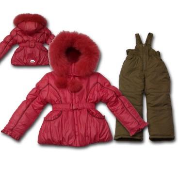 Зимний костюм для девочки (2111Б)