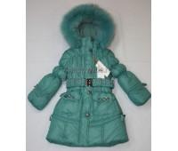 Зимнее пальто для девочки (2171)